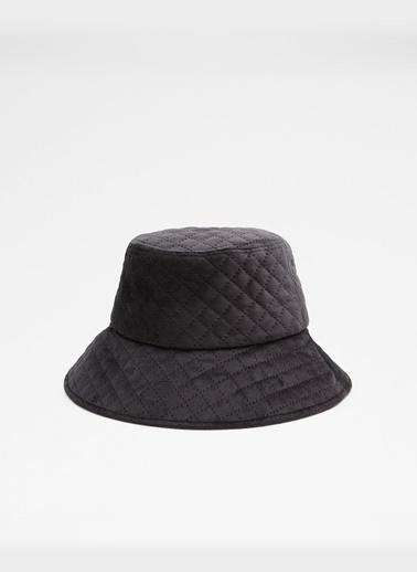 Aldo Coissi - Siyah Kadin Şapka & Şal & Eldiven Siyah
